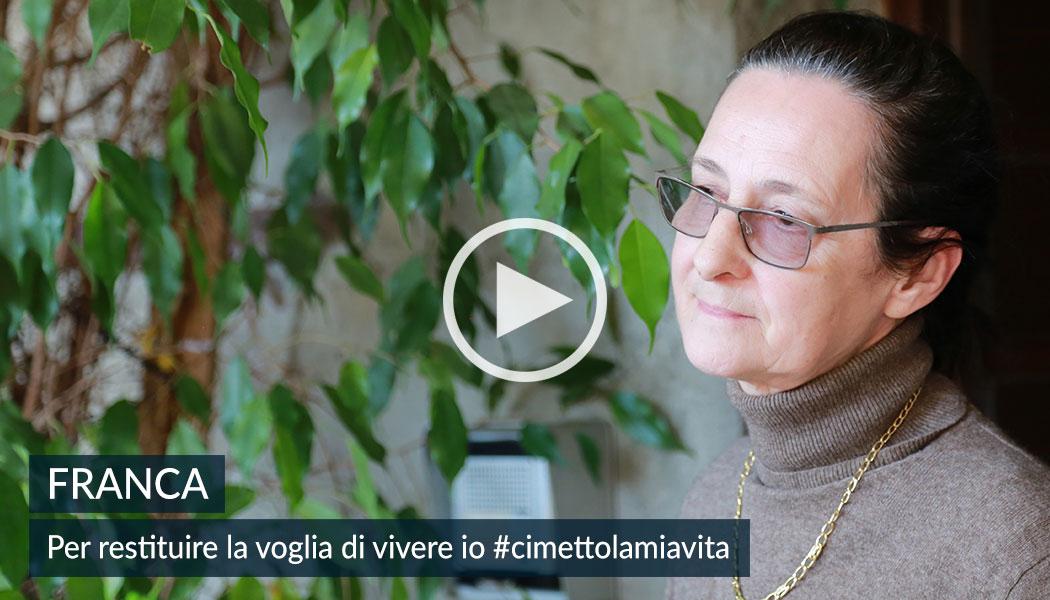 Franca, mamma di casa famiglia restituisce la voglia di vivere. 5x1000 alla Comunità Papa Giovanni XXIII