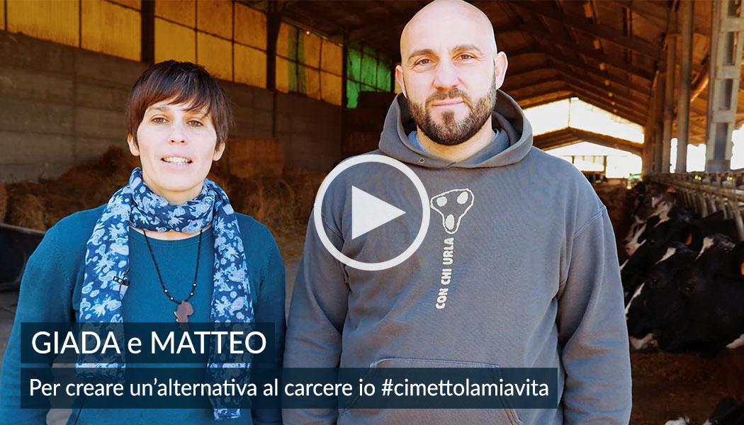Giada e Matteo per creare un'alternativa al carcere. 5x1000 alla Comunità Papa Giovanni XXIII