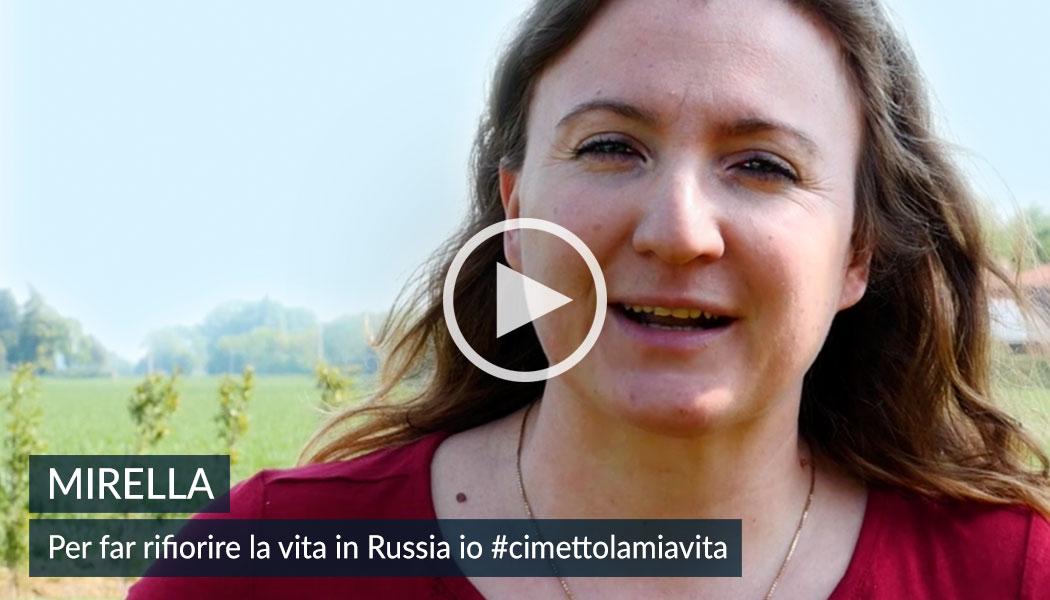 Mirella, in Russia fra i senza dimora. 5x1000 alla Comunità Papa Giovanni XXIII