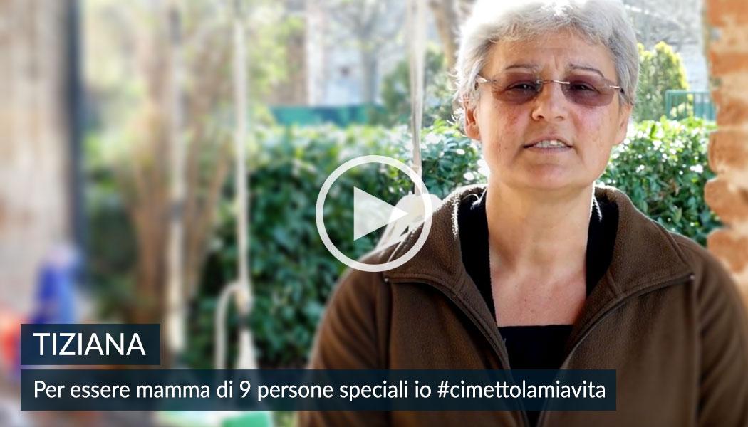 Tina, mamma di Casa Famiglia. 5x1000 alla Comunità Papa Giovanni XXIII